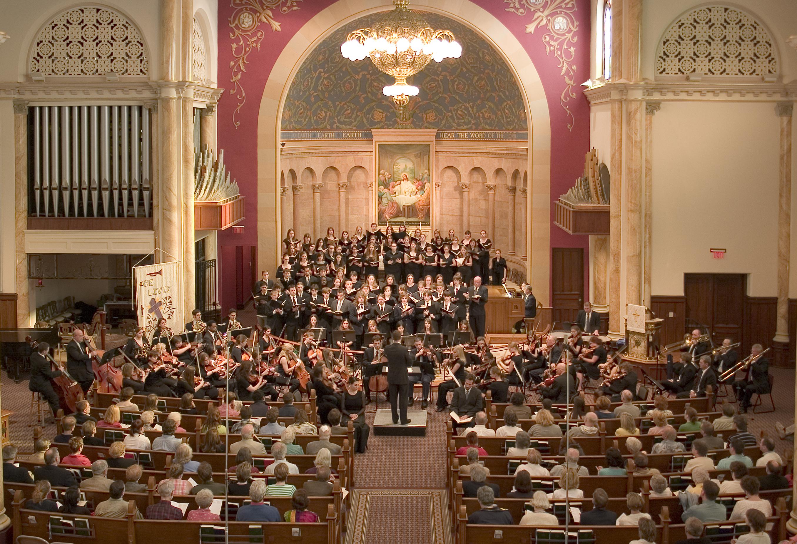 2007 April DCCO & Choir