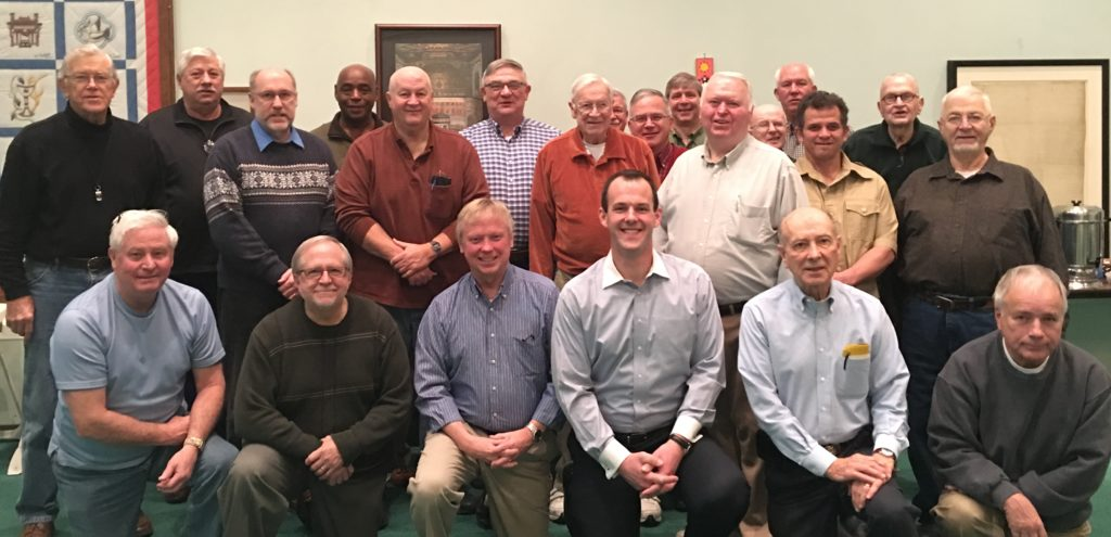 "2017 Men's Retreat: ""Getting to know you."""